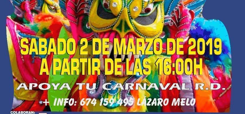 La Asociación Carnavalesca Dominicana de Barcelona «Lázaro Melo» invita a  toda la ciudadanía a participar en el desfile de Carnaval Dominicano que ... 3a0991da7a4
